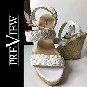 Preview International Wedge Sandal Braided Straps